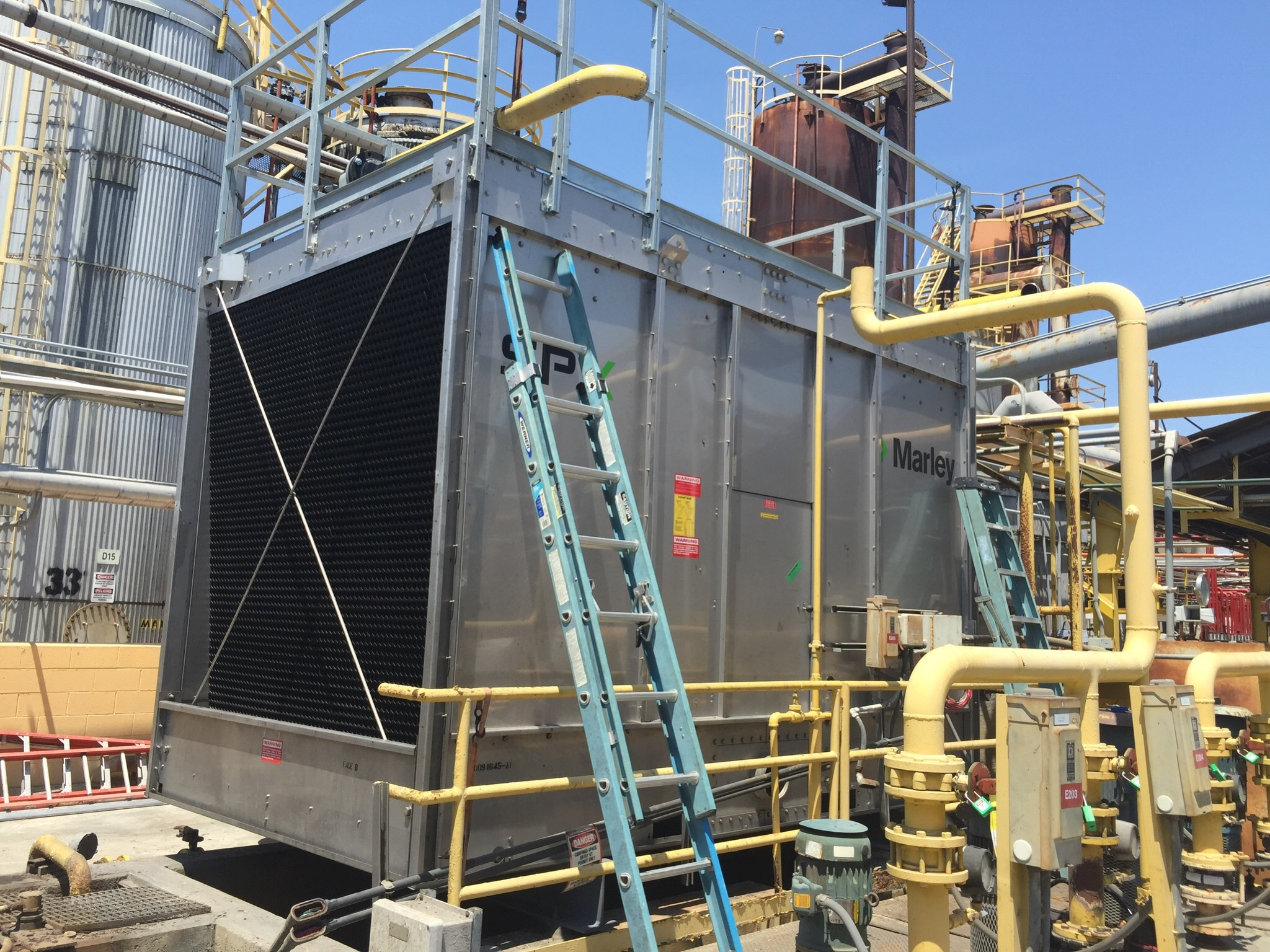 New cooling tower replacement
