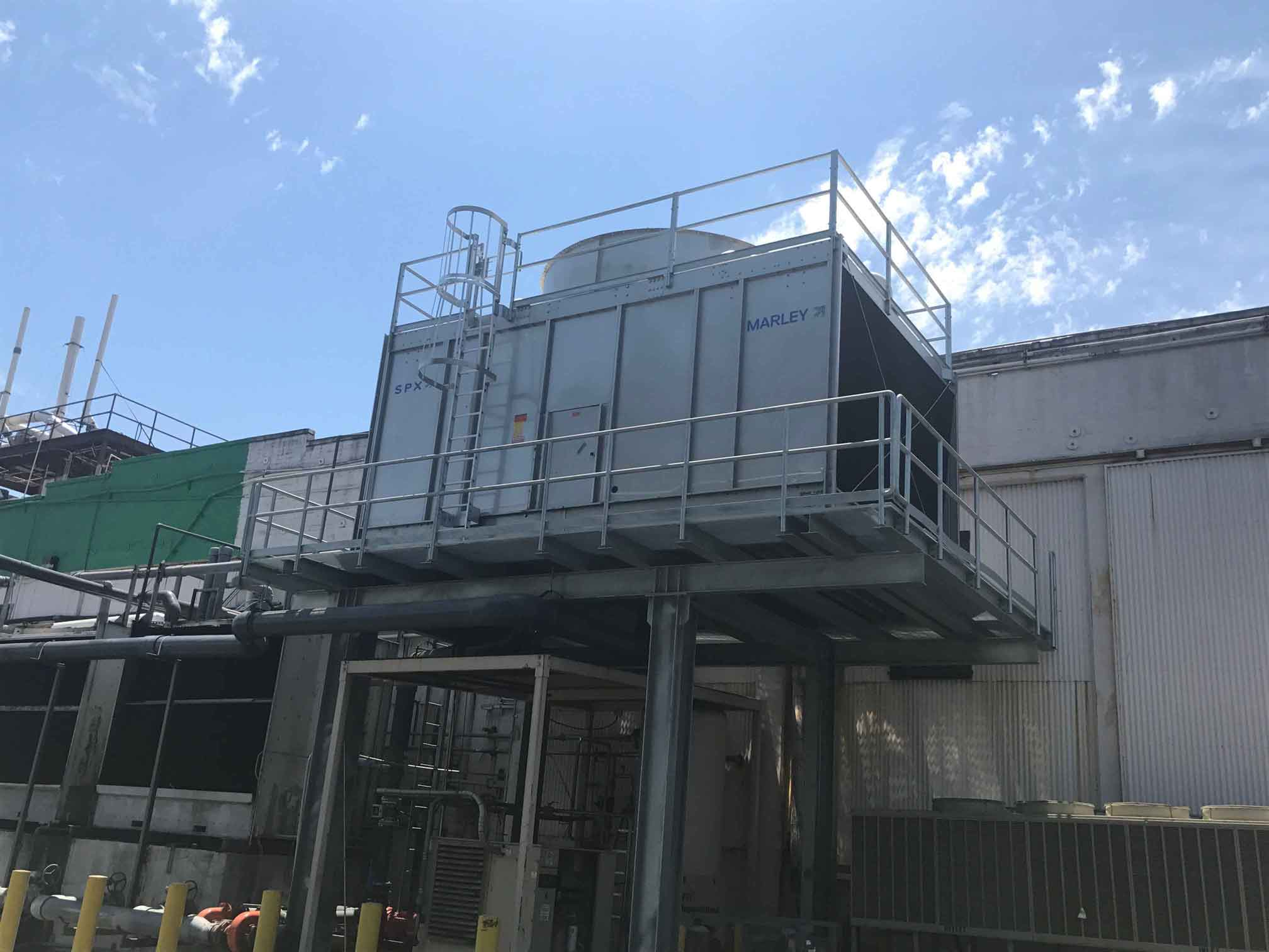 New Marley cooling tower install